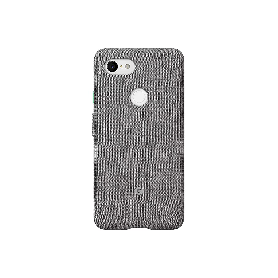 Google Fabric Case Cell Phone Case for Pixel 3XL - Fog Fabric