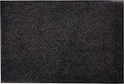 William Armes 3840303 Washamat 120x90 Black, Cotton