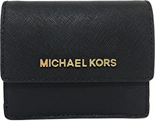 5bf528269d35 Michael Kors Jet Travel Credit Card Case ID Wallet with Key Ring