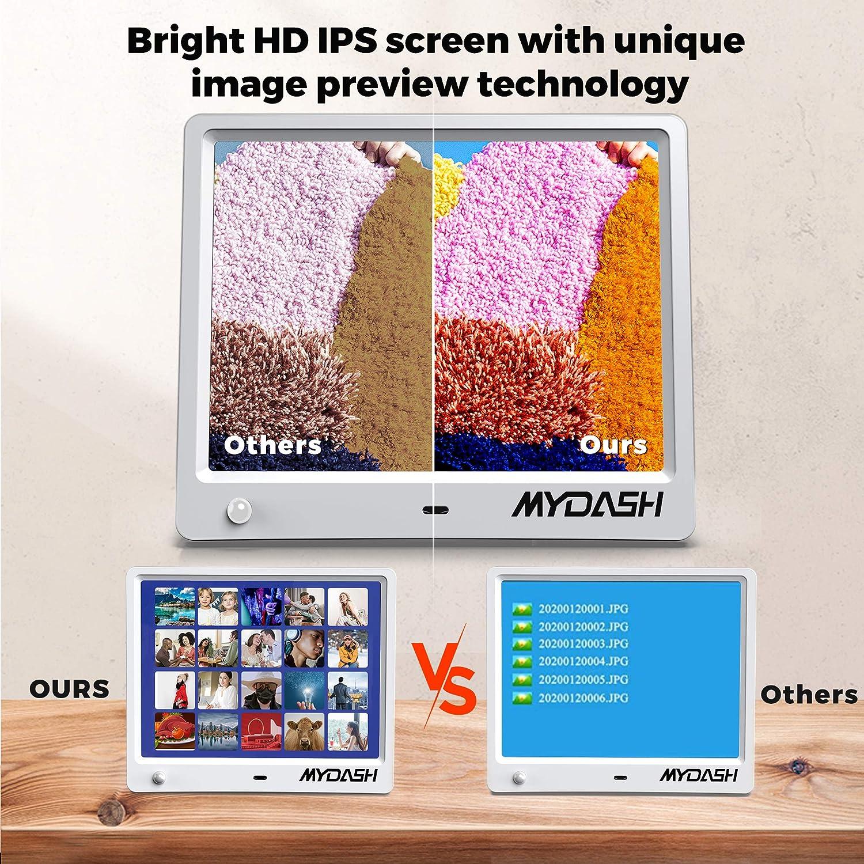 Built in 32GB Internal Storage MYDASH Digital Photo Frame 8 Inch ...