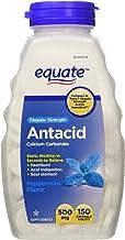 Equate - Tabletas antiácidas, resistencia regular 500 mg,