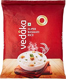 Amazon Brand - Vedaka Super Basmati Rice, 1 kg