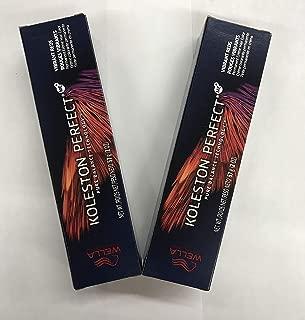 WELLA KOLESTON PERFECT (VIBRANT REDS) DARK BLONDE/RED GOLD 6/43-2oz (PACK OF 2)