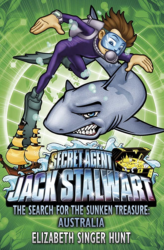 まともな若さ熟読Jack Stalwart: The Search for the Sunken Treasure: Australia: Book 2 (English Edition)