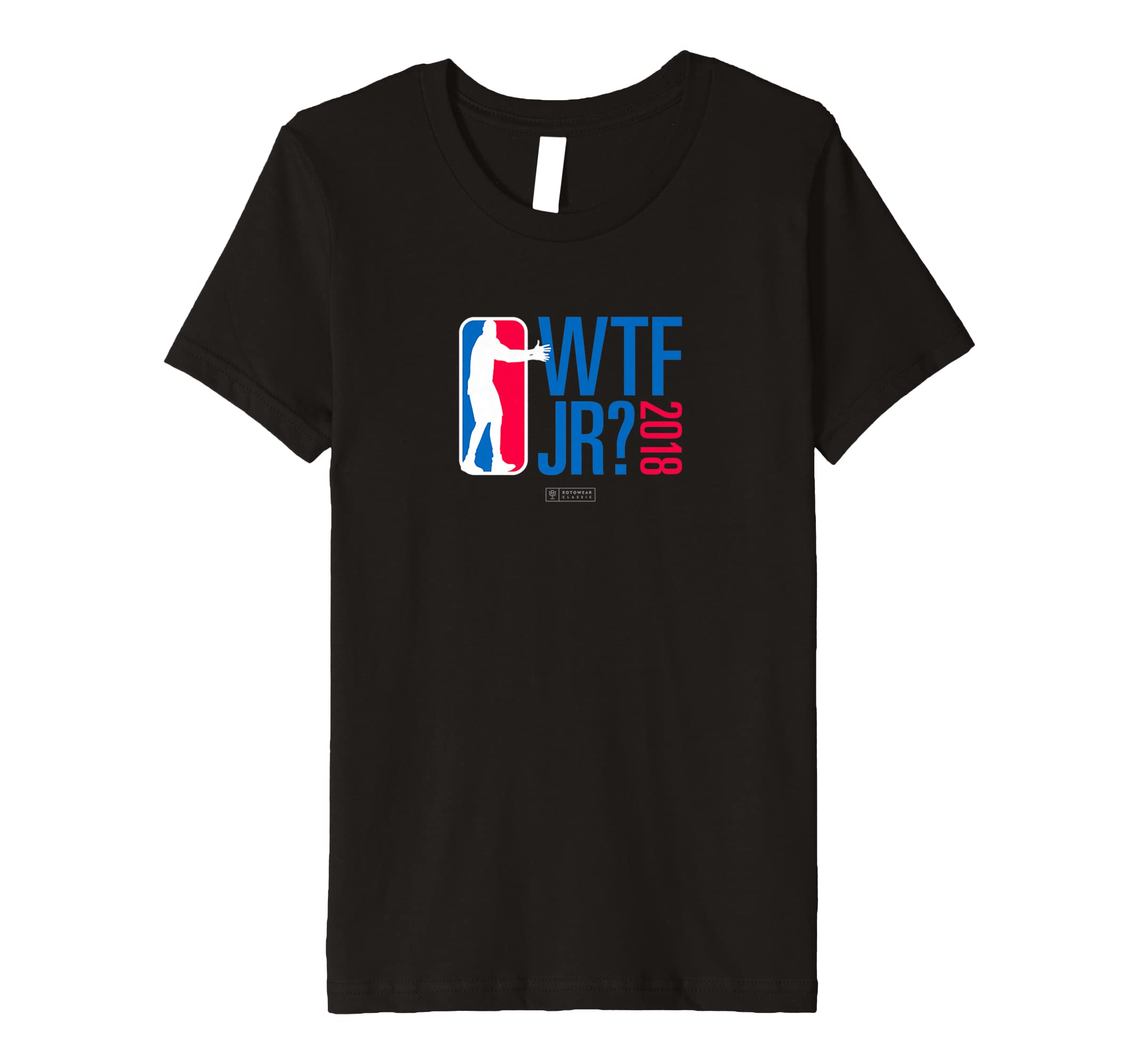 Amazon.com: WTF JR? Basketball T-Shirt: Clothing