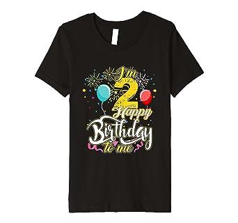 Kinder I M 2 Jahre Happy Birthday To Me Nd T