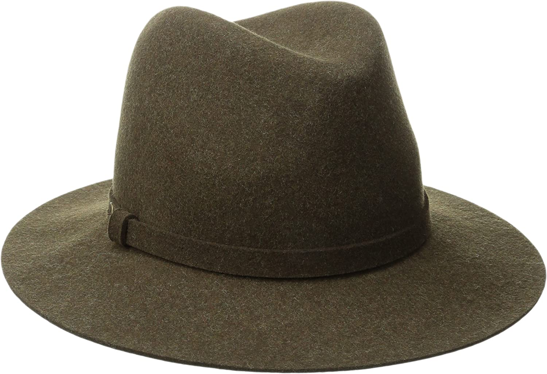 Karen Kane Women's Raw Edge Trilby Hat