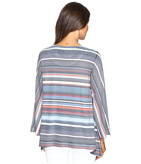 Top amp; Crepe Millie Sweater Striped Nally Uxzag