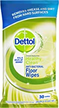 Dettol Antibacterial Floor Cleaning Wipes Lime & Mint (2x15 Pack)