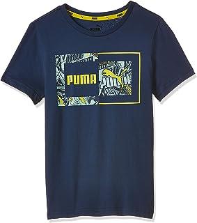 PUMA Boy's Alpha Graphic T-Shirt