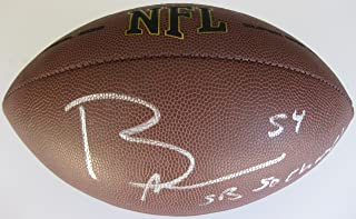 Brandon Marshall, Denver Broncos, Signed, Autographed, NFL Football, a Coa with the Proof Photo of Brandon Signing Will Be Included with the Football