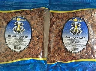 Aloha Gourmet Big Pounder Sakura Arare 1 lb bag (2 large 1 lb bags)