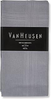 Van Heusen 6 条装男式细手帕 * 纯棉