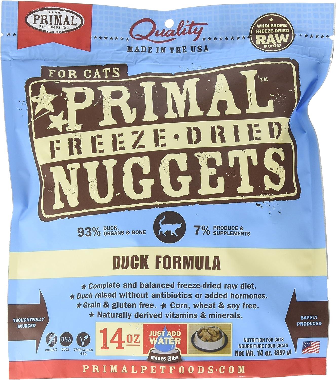 Primal Freeze Dried Feline Duck Formula  14 Oz.