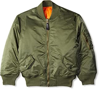Alpha Industries Big Boys' MA-1 Bomber Jacket