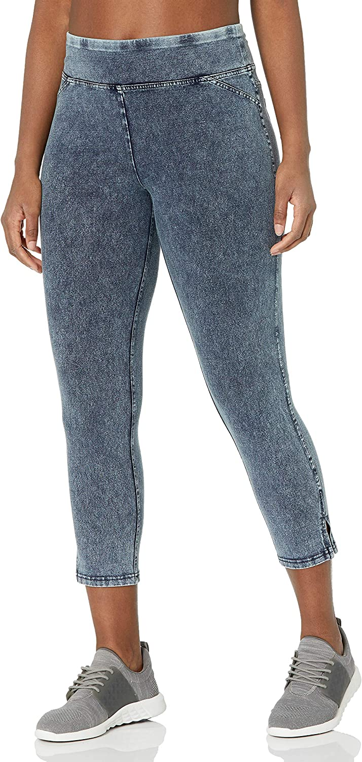 Marc New York Performance Women's Washed Cropped Legging