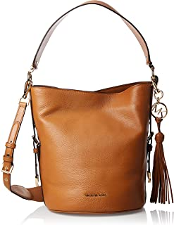 Michael Kors Bucket Bag for Women-Brown
