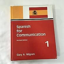 Spanish for Communication Level I