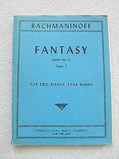 Fantasy Suite No. 1 Opus 5 for 2 Pianos, 4 Hands
