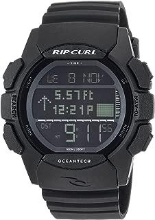 Men's Quartz Sport Watch with Polyurethane Strap, Black, 26 (Model: A1133MID1SZ)
