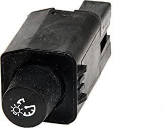 ACDelco D1550J GM Original Equipment Tiefschwarz Instrumententafel Dimmer Schalter
