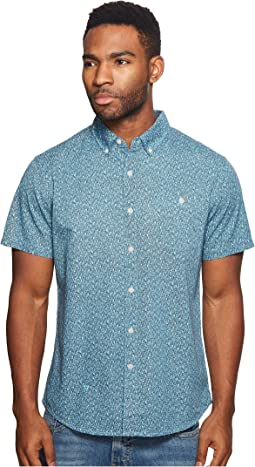 VISSLA - Mandurah Short Sleeve Printed Woven Top