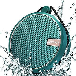 INSMY Portable IPX7 Waterproof Bluetooth Speaker, Wireless Outdoor Speaker Shower Speaker, with HD Sound, Support TF Card,...