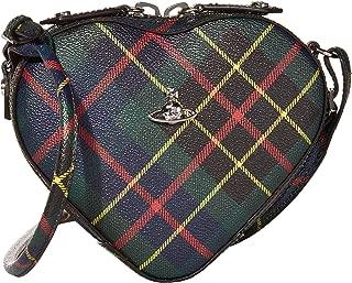 Vivienne Westwood Derby Heart Crossbody Bag Hunting Tartan One Size
