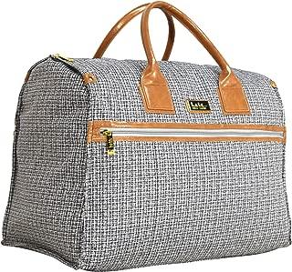 Nicole Miller New York Rosalie Collection Weekender Carry On Box Bag (Rosali Black)