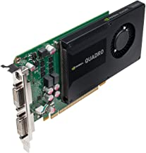 NVIDIA Quadro K2000D 2GB GDDR5 Graphics card (PNY Part #: VCQK2000D-PB)