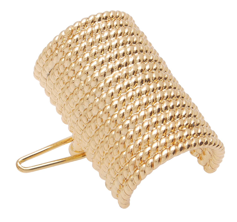 L. Erickson Metal Sale special price Cuff Tige Barrette Austin Mall Gold - Boule
