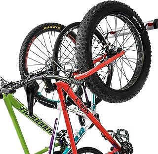 PRO BIKE TOOL Bike Wall Rack - 3 Bikes Version - Adjustable Indoor Bicycle Storage Mount for Garage or Home - Vertical Cyc...