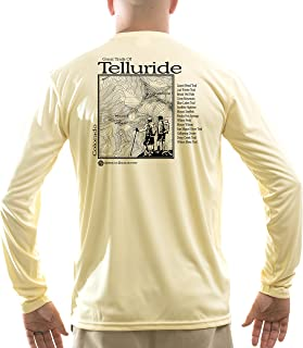 American Backcountry Men's Great Trails of Telluride UPF 50+ Long Sleeve T-Shirt