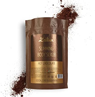 Zeitun Exfoliating Body Scrub - Cellulite Treatment - Natural Skin Exfoliator for Men and Women - Organic Coffee Scrub for...