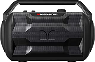 Monster Nomad | Portable Indoor/Outdoor Bluetooth and NFC Speaker, 30 Watts of Powerful Premium Sound, 30 Hours of Playtim...