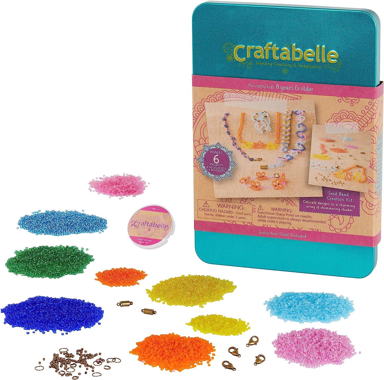 Craftabelle – Quantity limited Seed Bead Creation Kit Bracelet Neck San Jose Mall