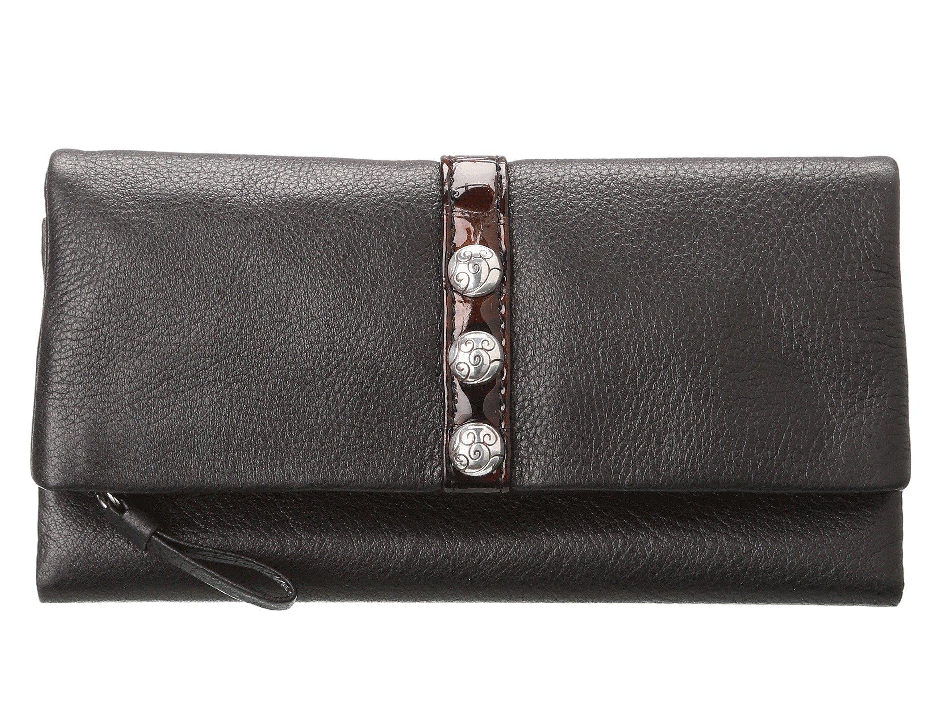 chocolate Large Black Nolita Shimmer Wallet Brighton dBXxqEIB