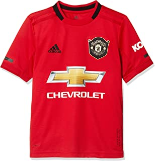 adidas 18/19 Manchester United Home Jersey Youth