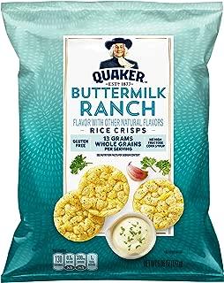 Quaker Popped Rice Snacks, Ranch, 6.06 oz