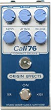 Origin Effects 76-CD Cali76 Compact Deluxe Compressor Limited Edition Blue/Silver with Blue Knobs