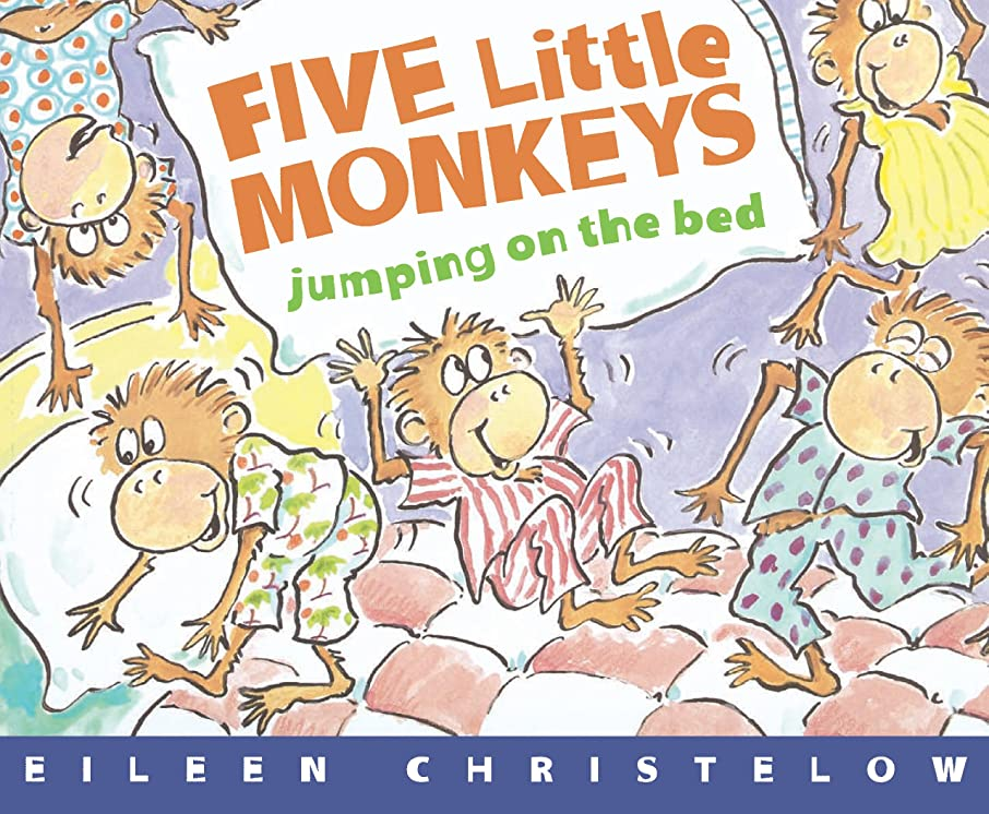 内部闇外交官Five Little Monkeys Jumping on the Bed (A Five Little Monkeys Story) (English Edition)