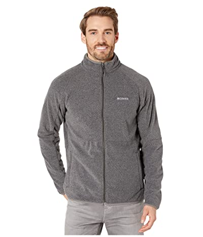 Columbia Basin Trailtm Fleece Full Zip Jacket (Charcoal Heather) Men