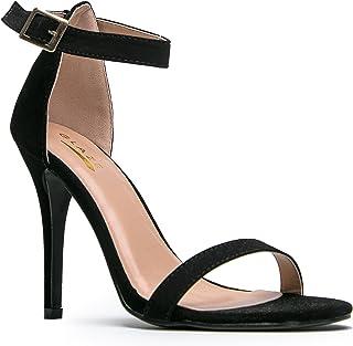 c3e12f9525a8 Glaze WILLOW-2   CHARLIE-1 Stiletto High Heel Ankle Strap Sandal