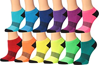 Women's 12-Pairs Low Cut Athletic Sport Peformance Socks