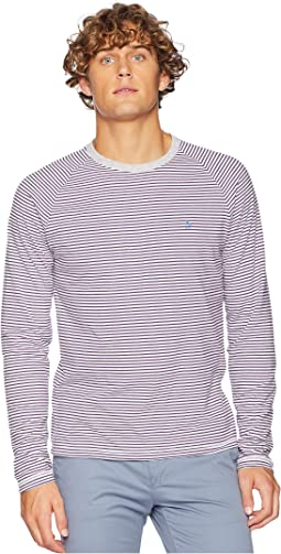 Long Sleeve Reversible Stripe T-Shirt