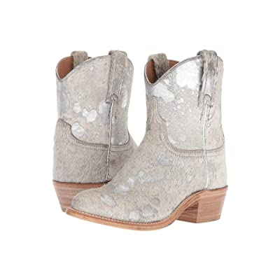 Lucchese Sterling (Silver Hair-On Calf) Cowboy Boots
