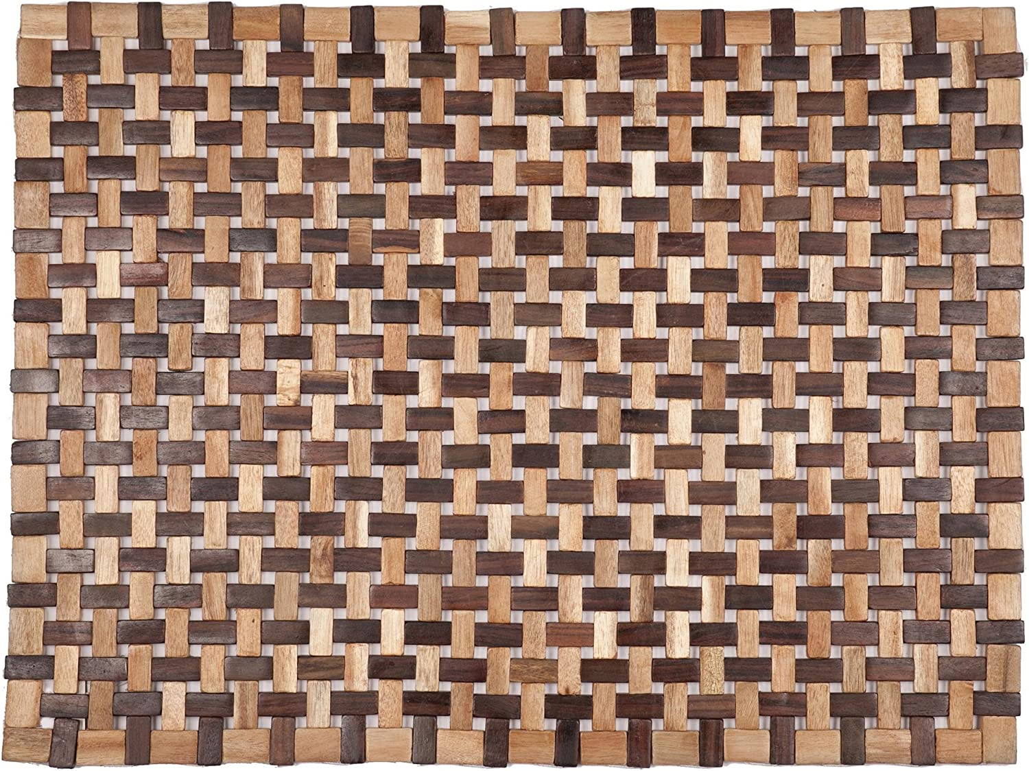 Entryways Douglas Exotic Wood Mat, Natural