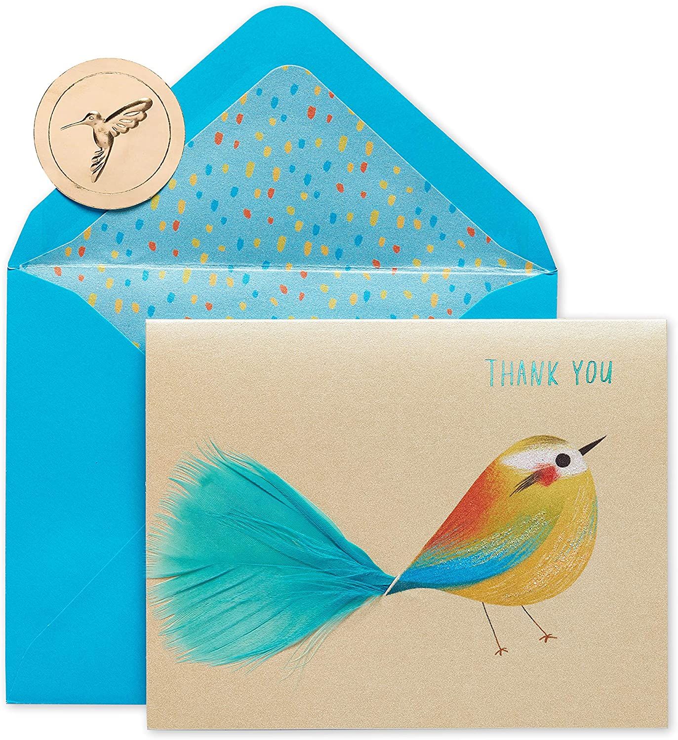 Papyrus Thank You low-pricing Cards with Our shop OFFers the best service Envelopes 6-Count Bird