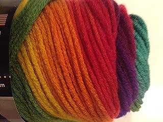 Bulk Buy: Red Heart Super Saver Yarn, Favorite Stripe (4965), Pack of 3 Balls