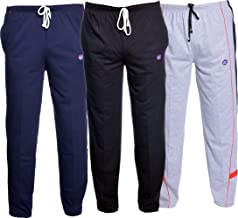 VIMAL Men's Cotton Track Pants - Pack Of 3